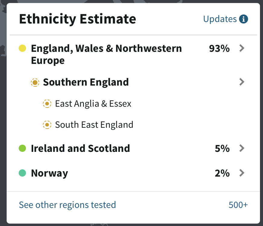 Maternal Ethnicity Estimate